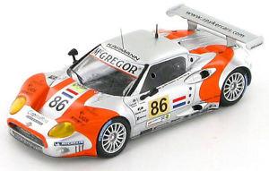 【送料無料】模型車 スポーツカー スパイカースパイダーアウディ#ルマンspyker c8 spyder gt2r audi 86 le mans 2006 143 s0320