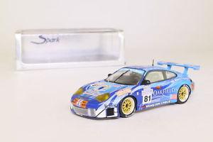 【送料無料】模型車 スポーツカー スパークポルシェグアテマラルマンspark s0922; porsche 911 gt3 rsr; 2004 24h le mans, rn81; excellent boxed