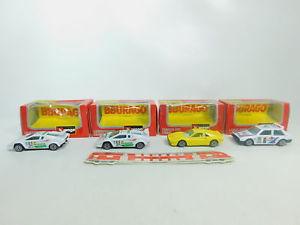 【送料無料】模型車 スポーツカー #モデルフェラーリランチアランボルギーニbo8891 4x burago 143 model 4175 ferrari 4135 lancia 4127 lamborghini, ovp