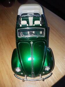 【送料無料 ms31019g】模型車 volkswagen green スポーツカー フォルクスワーゲンビートルカブリオレグリーンmaisto 118 volkswagen beetle vbugz cabriolet green ms31019g unboxed, 羽黒町:d6dcd67f --- mail.ciencianet.com.ar