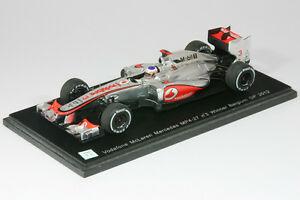 【送料無料】模型車 スポーツカー マクラレンメルセデスmp427f1 gpベルギーボタン20121433047mclaren mercedes mp427 button formula 1 gp belgium 2012 143 spark 3047