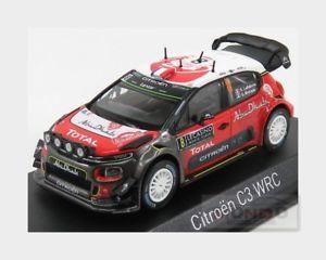 【送料無料】模型車 スポーツカー シトロエンアブダビラリーモンテカルロcitroen c3 wrc abu dhabi night v 8 rally montecarlo 2017 norev 143 nv155362