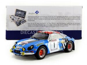 【送料無料】模型車 スポーツカー アルパインツールドコルスsolido 118 alpine a110 1800s tour de corse 1973 1800803