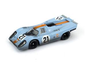 【送料無料】模型車 スポーツカー ポルシェルマン#レースporsche 917k le mans 1970 rodriguez kinnunen 21 raced pilota brumm 143 r494r