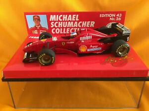 【送料無料】模型車 スポーツカー フェラーリ#シューマッハ#アーバイン143 ferrari f310 1 m schumacher amp; 2 e irvine 1996