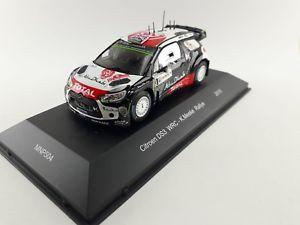 【送料無料】模型車 スポーツカー シトロエンクリスラリーサルデーニャネットワークラリーcitroen ds3 wrc kris rally rally sardinia 2015ixo mnp504