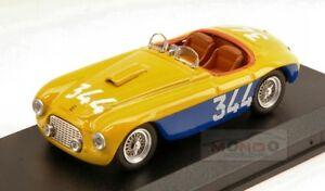 【送料無料】模型車 スポーツカー フェラーリ#ミッレミリアアートタイプferrari 166 mm 344 mille miglia 1951 pale manser farravazzi 143 type art294 mod