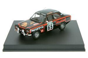 【送料無料】模型車 スポーツカー 143 tr0540フォードエスコートmkiグェルラポルトガル77143 tr0540 ford escort mk i guerra rally portugal 77