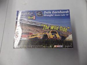【送料無料】模型車 スポーツカー デイルアーンハート#ラングラーモデルキットスケールdale earnhardt 3 wrangler the wild side revell nascar model kit 124 scale
