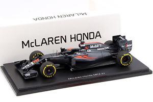 【送料無料】模型車 スポーツカー ジェンソンボタンマクラレンmp43122 f12016143スパークjenson button mclaren mp431 22 formula 1 2016 143 spark