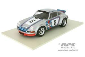 【送料無料】模型車 スポーツカー ポルシェカレラタルガフローリオミュラーヴァンporsche 911 carrera rsr targa florio 1973 muller van lennep 118 solido 1801104