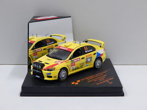 【送料無料】模型車 スポーツカー 143x 2009ピレリドライバー3grn143 mitsubishi lancer evolution x 2009 pirelli star driver 3rd grn rally of