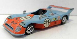 【送料無料】模型車 スポーツカー solido 143ダイカスト38le1975lesolido 143 scale diecast38 gulf le mans 1975 le mans car