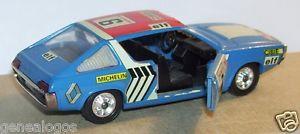 【送料無料】模型車 スポーツカー solidoオリジナルrenault 17 ts 6モロッコ1972rare solido original renault 17 ts 6 rally morocco blue 1972 ref