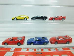 【送料無料】模型車 スポーツカー #モデルフェラーリランボルギーニbo9350, 5 6x herpa h0 187 modelferrari f40512f50testarossa lamborghini