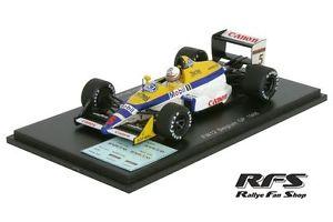 【送料無料】模型車 スポーツカー ウィリアムズfw12 juddbrundle1gpベルギー19881434027williams fw12 juddbrundle formula 1 gp belgium 1988 143 spark 4027