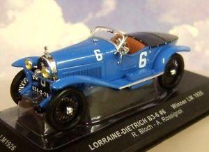 【送料無料】模型車 スポーツカー ixo 143 lorraine dietrich b366 winner lemans 1926 blochrossignol lm1926ixo 143 lorraine dietrich b36 6 winner le mans 1926