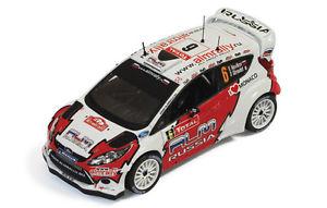 【送料無料】模型車 スポーツカー フォードフィエスタrs wrc65モンテカルロ2012ノビコフgiraudet 143モデルford fiesta rs wrc 6 5th monte carlo 2012 novikovgiraudet 143 model