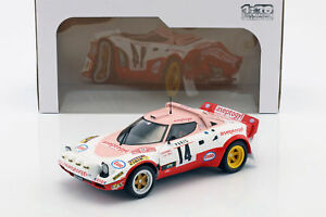 【送料無料】模型車 スポーツカー ランチアstratos hf146モンテカルロラリー1977 dacremontガルリ118 solidolancia stratos hf 14 6th monte carlo rally 1977 dacremont, galli 118