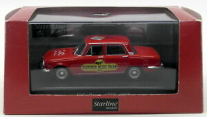【送料無料】模型車 スポーツカー starline 143ダイカストモデルカー51095 1968 alfa romeo1750starline 143 scale diecast model car 51095 1968 alfa romeo 1750red