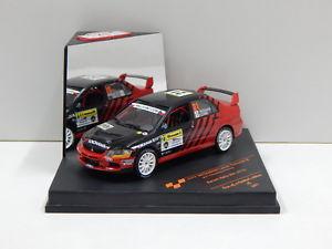 【送料無料】模型車 スポーツカー ランサーエボリューションラリーズリン143 mitsubishi lancer evolution 1x barum rally zlin 2010 fnutaharahichino