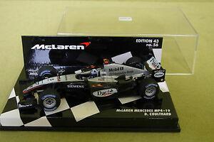【送料無料】模型車 スポーツカー マクラーレンメルセデスクルサードmclaren collectionmclaren mercedes mp419 d coulthard 43 edition 56