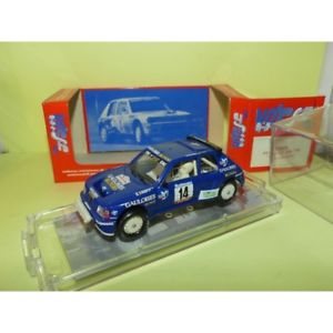 【送料無料】模型車 スポーツカー プジョーターボラリーツールドコルスpeugeot 205 turbo 16 no 14 rally tour de corse 1985 sm026 143 speed darniche