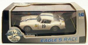 【送料無料】模型車 スポーツカー イーグルレーススケールモデルカーフェラーリ#ホワイトeagles race 143 scale model car 1012ferrari 250 gt 1961 19 white