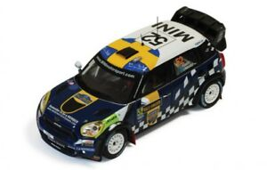 【送料無料】模型車 スポーツカー 143ミニjcwジョンクーパーwrcスウェーデン2012 psandell143 mini jcw john cooper works wrc rally sweden 2012 psandell