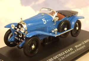 【送料無料】模型車 スポーツカー ixo 143 lorraine dietrich b365 winner 1stle mans 1925 de courcelles lm1925ixo 143 lorraine dietrich b36 5 winner 1st le ma