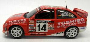 【送料無料】模型車 スポーツカー vitesse 143ダイカスト66エスコートwrcネットワークq1998vitesse 143 scale diecastrally 66 ford escort wrc network q rally 1998