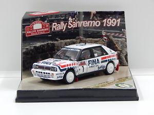 【送料無料】模型車 スポーツカー ランチアデルタラリーサンレモ#143 lancia delta integrale 16v 1st 1991 rallye sanremo daurioboccelli 1