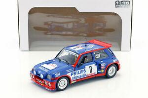 【送料無料】模型車 スポーツカー ルノー5 maxiターボ3de1985ragnotti thimonier 118renault 5 maxi turbo 3 tour de corse 1985, ragnotti thimonier 118