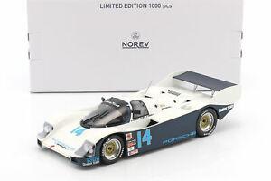 【送料無料】模型車 スポーツカー ポルシェ#デイトナベルporsche 962 c 14 winner 24h daytona 1986 holbert, our, bell 118 norev