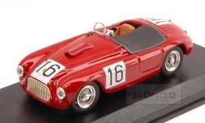 【送料無料】模型車 スポーツカー フェラーリスパイダー#アートアートferrari 166 spyder 16 winner 12h parigi 1950 chinettilucas 143 art art227 mod