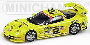 【送料無料】模型車 スポーツカー シボレーコルベットデイトナフェロー#chevrolet corvette c5r gts 24 h daytona 2001 fellows kneifel freo 2 143