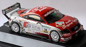 【送料無料】模型車 スポーツカー アウディアプト#ピーターaudi ttr abt dtm 2003 15 peter terting 143 schuco