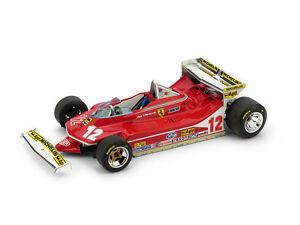 【送料無料】模型車 スポーツカー フェラーリヴィルヌーブ#モナコグランプリモデルferrari 312 t4 g villeneuve 1979 12 retired monaco gp 143 model r514 brumm