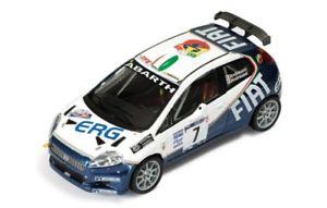 【送料無料】模型車 スポーツカー フィアットグランデプントアバルトラリーミッレミリア143 fiat grande punto abarth s2000 rally mille miglia 2006 pandreucci