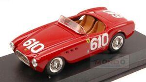 【送料無料】模型車 スポーツカー フェラーリ#リタイアミッレミリアアートモデルアートferrari 225 s 610 dnf mille miglia 1952 scotticantini 143 art model art130 mo
