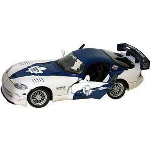 【送料無料】模型車 スポーツカー トップトロントメープルスケールダッジバイパーグアテマラtop dog tdh09viptml nhl toronto maple leafs 118 scale dodge viper gt6