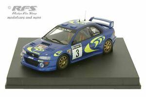 【送料無料】模型車 スポーツカー スバルimpreza wrcrac1997コリンマクレー 143 trofeu 1104subaru impreza wrcrac rally 1997colin mcrae 143 trofeu 1104