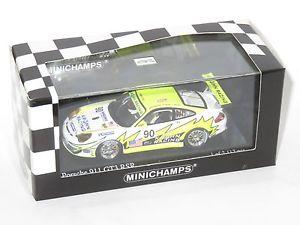 【送料無料】模型車 スポーツカー ポルシェグアテマラレーシングルマン#143 porsche 911 gt3 rsr white lightning racing le mans 24 hrs 2006 90