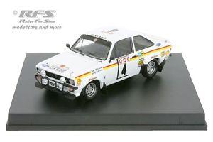 【送料無料】模型車 スポーツカー フォードエスコートrs 1800mk iiモロッコ1976メキネン143 trofeu102104ford escort rs 1800 mk ii rally morocco 1976 mkinen 143 trofeu 102104