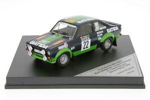 【送料無料】模型車 スポーツカー フォードエスコートラリー143 rfs05 ford escort mk ii bda divine rally 1980