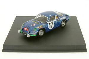 【送料無料】模型車 スポーツカー ルノーアルパインモンテカルロラリー143 renault alpine a110darnichemonte carlo rally 1972 trofeu 0807g