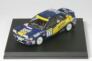 【送料無料】模型車 スポーツカー スバルモンテカルロラリー143 subaru imprezabaronimonte carlo rally 1996 trofeu 0614r