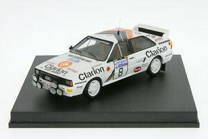 【送料無料】模型車 スポーツカー アウディラリーラリー143 audi quattroeklundrac rally 1985 143 rally tr 1617