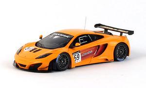 【送料無料】模型車 スポーツカー マクラーレンオレンジ#モデルスケールミニアチュアmclaren mp412c gt3 59 orange 2011 143 model true scale miniatures