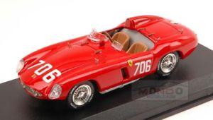 【送料無料】模型車 スポーツカー フェラーリ750モンツァ706 dnfミルミグリア1955プロッティザニーニ143モデルart150ferrari 750 monza 706 dnf mille miglia 1955 prottizanini 143 art model a